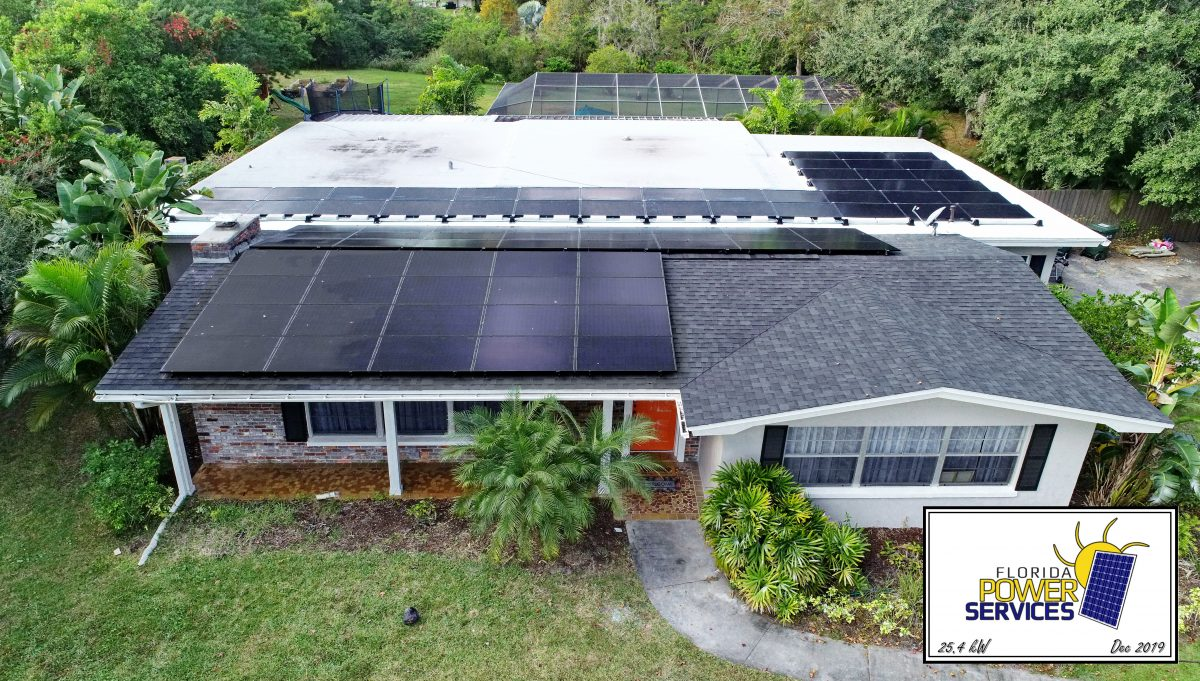 Clearwater 25.4 kW Grid-Tied Home Solar System