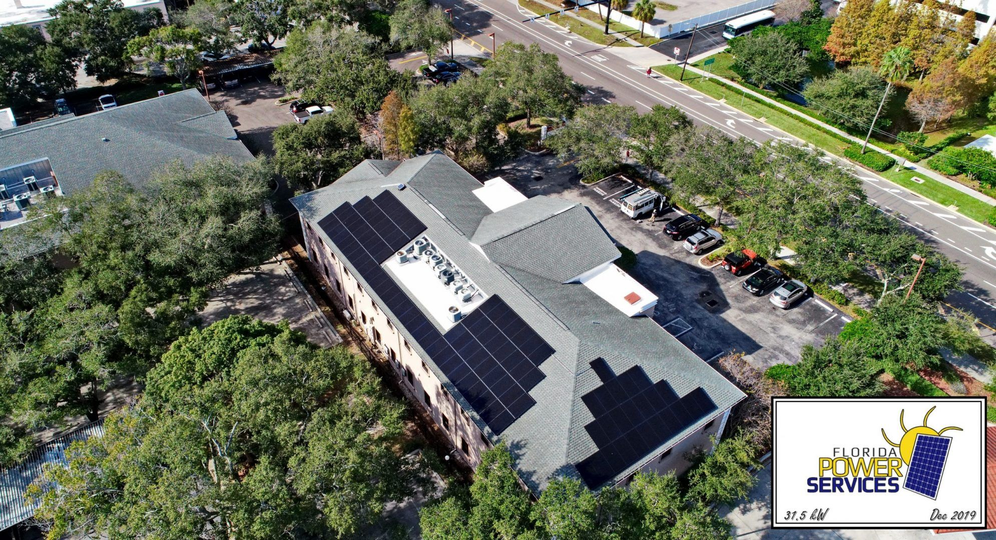 Clearwater Commercial 31.5 kW Solar Array