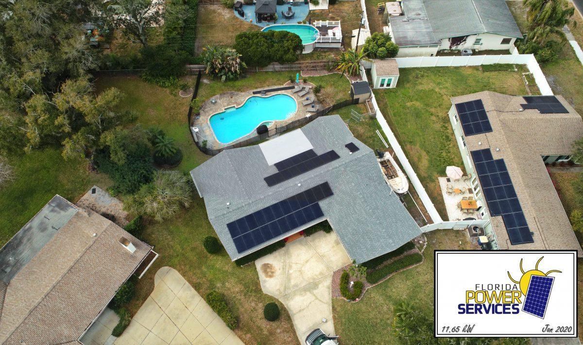 Clearwater 11.56 kW Micro-Inverter Solar Install