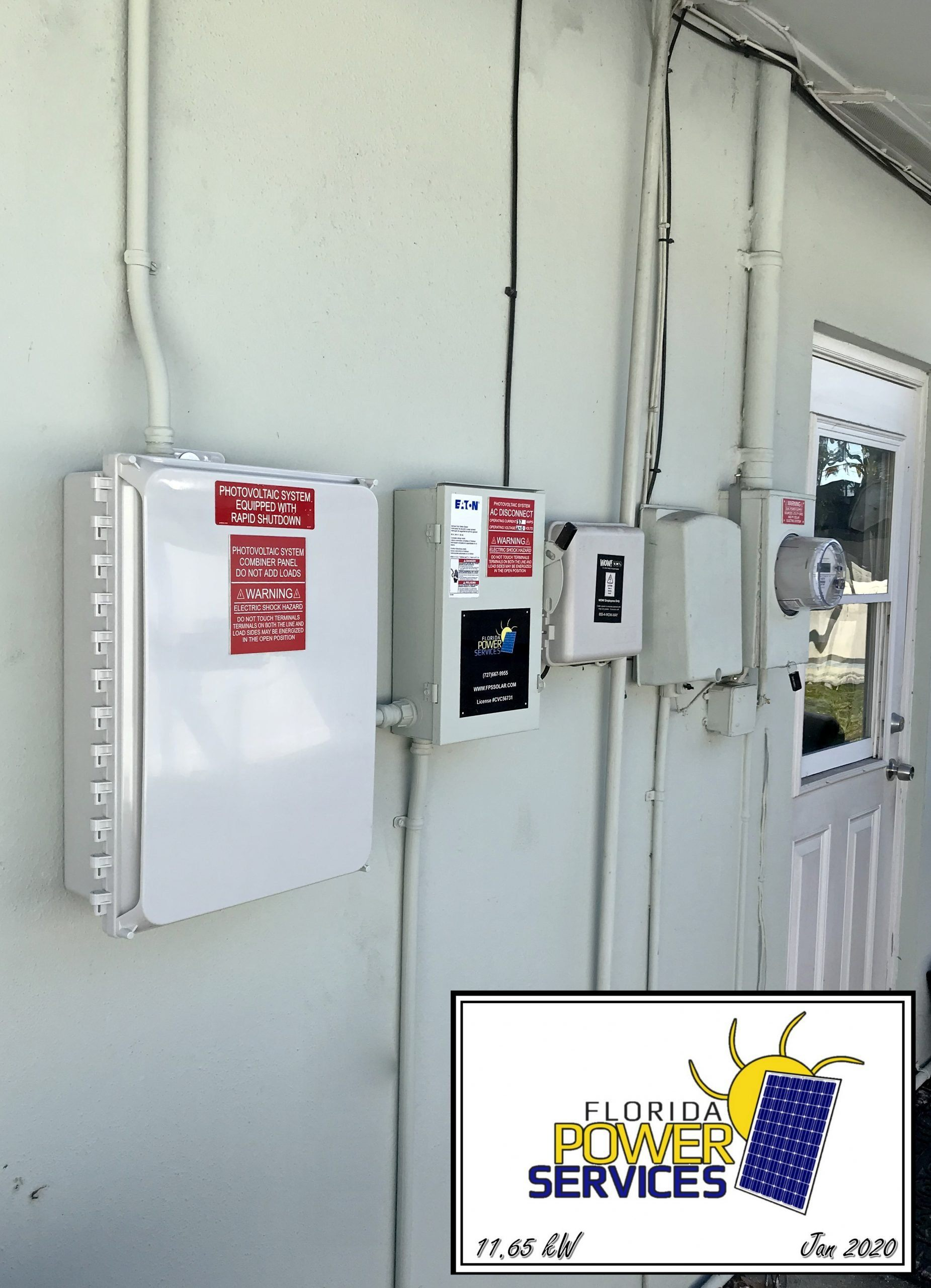 Clearwater Residential Mirco-Inverter Installation