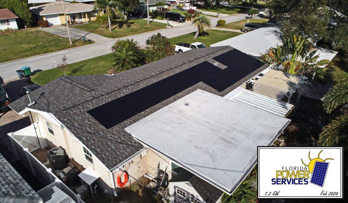 Seminole 7.2 kW Residential Solar System