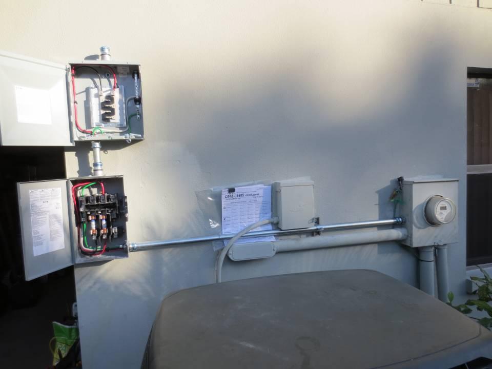 Solar Interconnection installation in Clearwater, FL