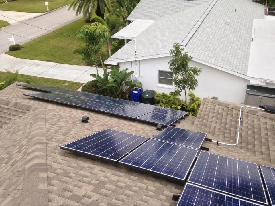 Solar Array installed in Dunedin, FL