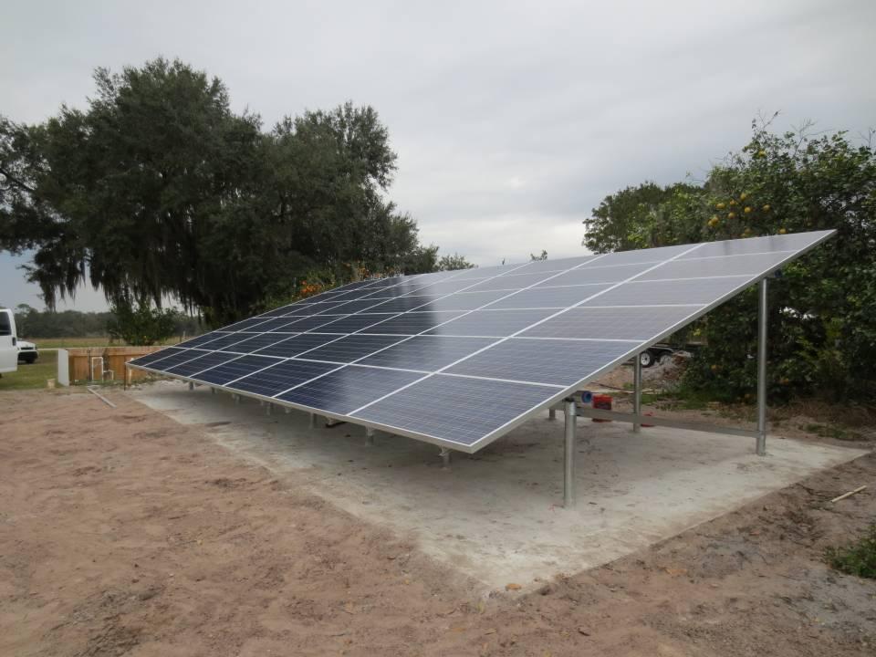 Grid Tied Solar System net zero power bill