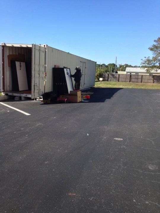 Solar Panels arrive in Dunedin, FL