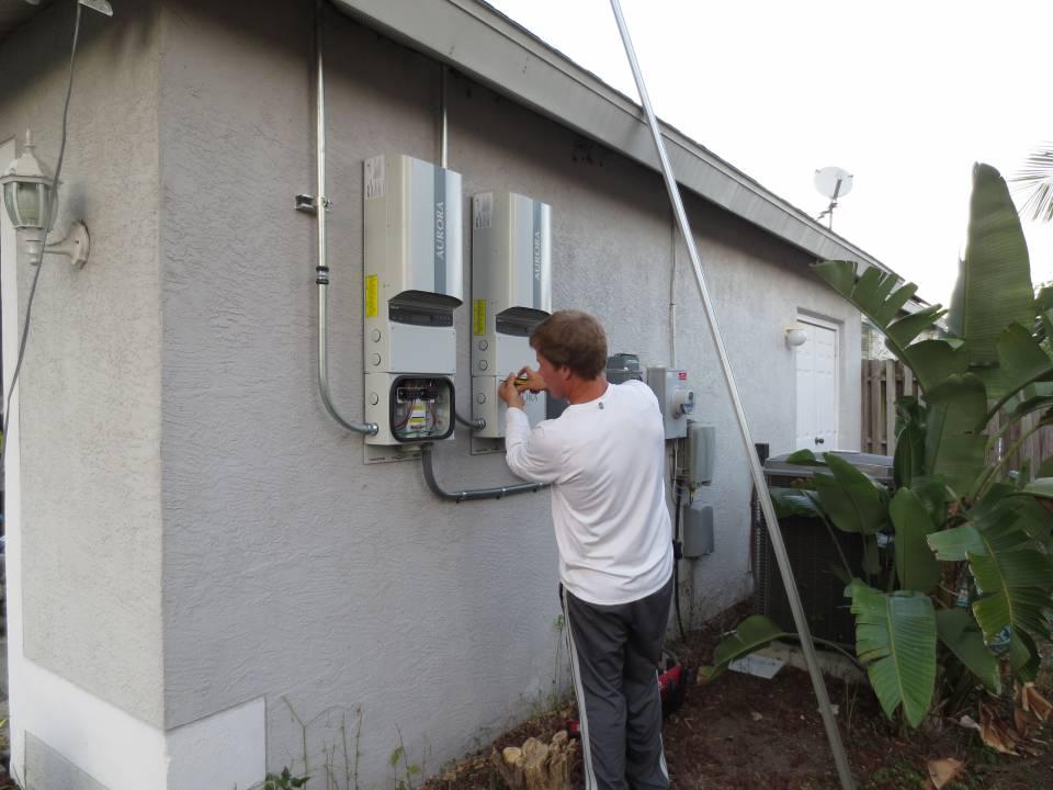 Installing solar inverters in Sarasota, FL