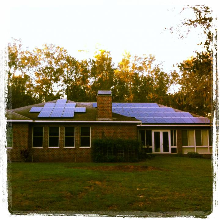 Street View of Solar Installation in Brooksville, FL