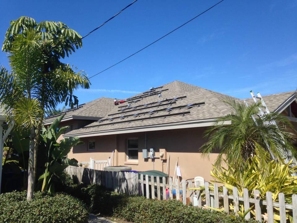 Solar racks and inverters installed in Dunedin, FL