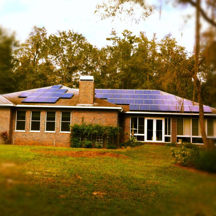 The solar arrays are beautiful