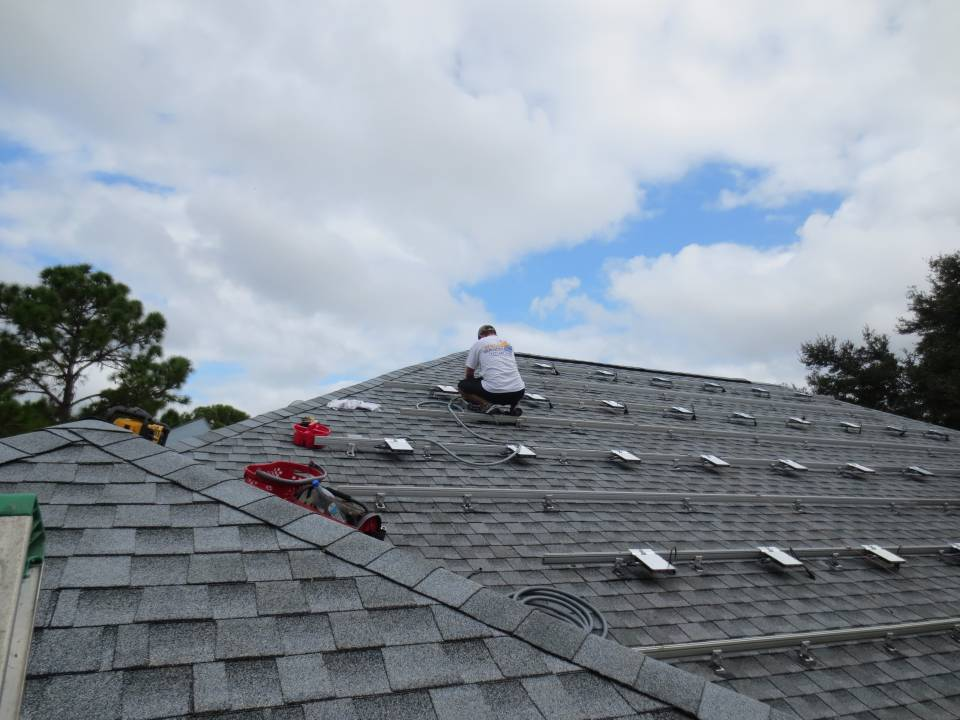 Wiring the Micro Inverters on a Shingle Roof