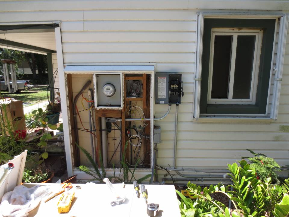 Solar Interconnection installation in Brandon, FL