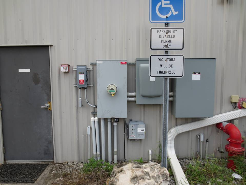 Interconnection on commercial solar installation in Tampa, FL