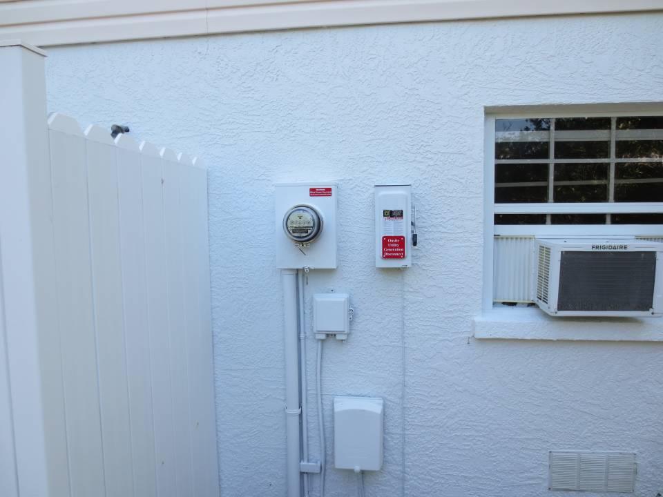 Solar interconnection installed in Anna Maria, FL