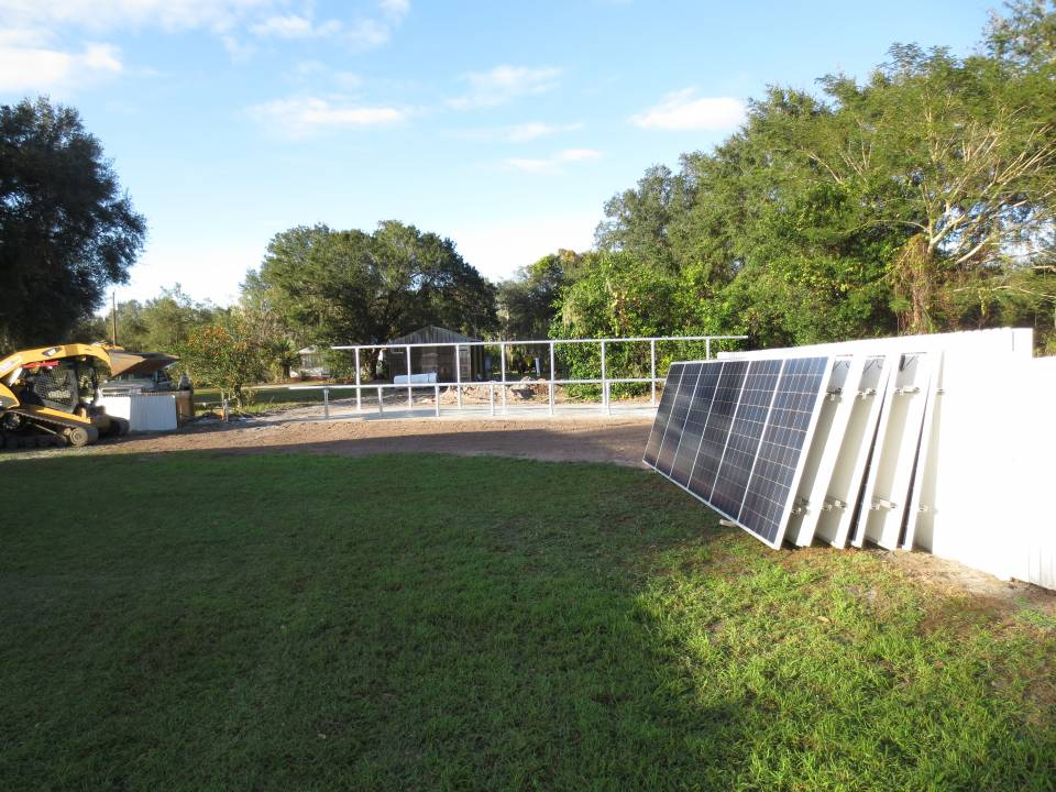 Solar Panels ready for mounting