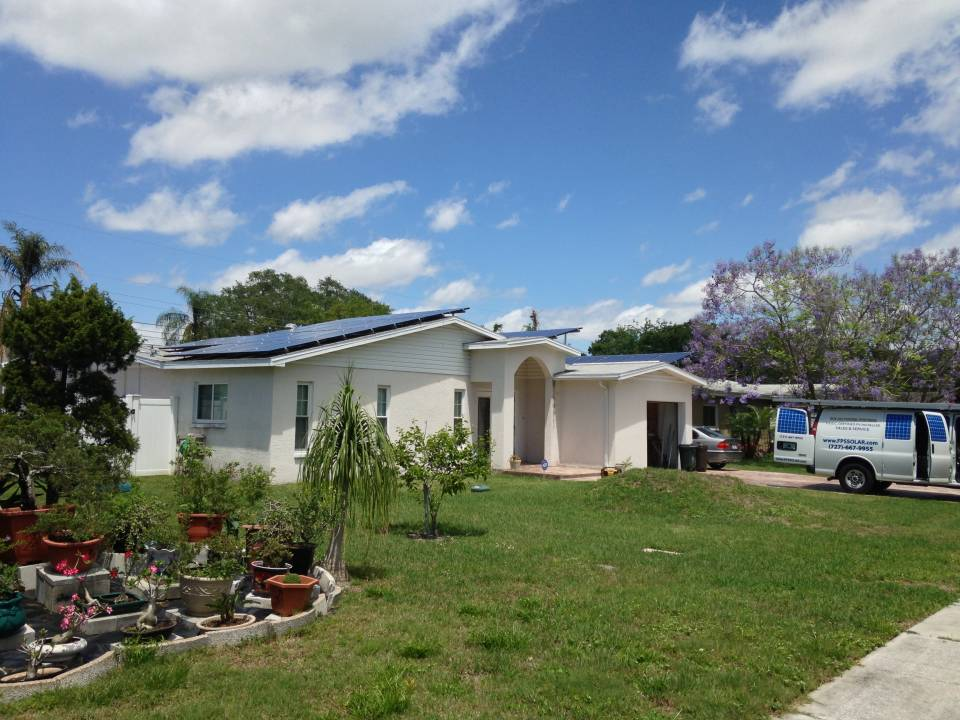 Street view of solar installation in St Pete