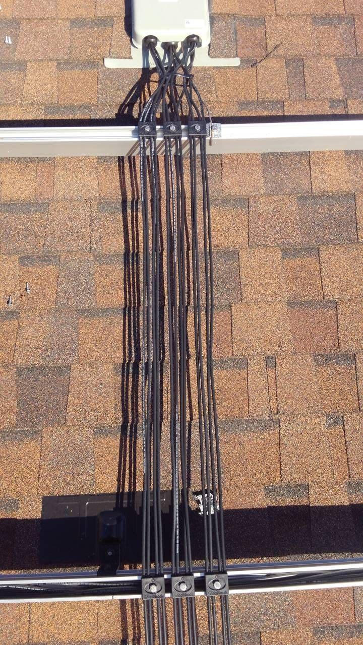 Solar Array Wire Management