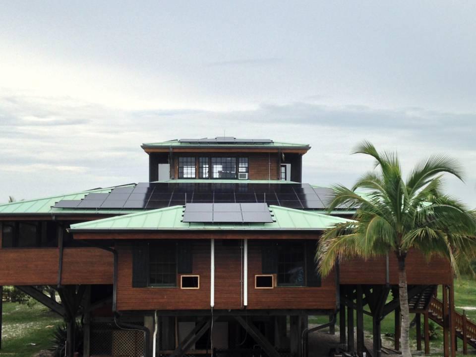 Street View of solar installation