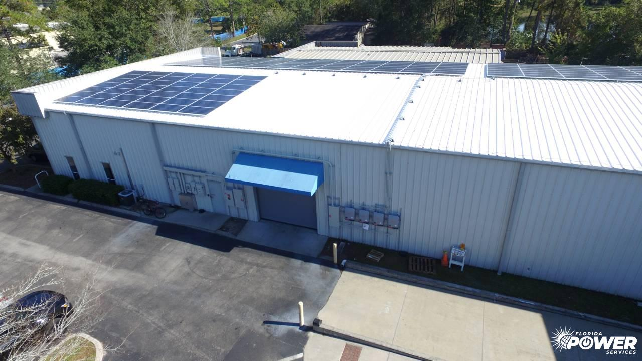 60 kW Commercial Installation