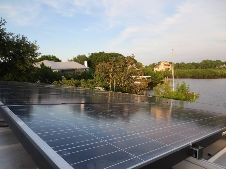 Solar Array in Crystal Beach, FL