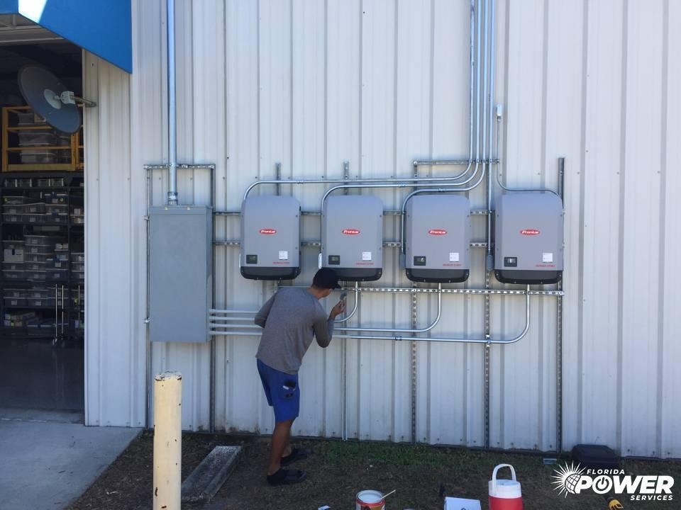 Mounting Solar Inverters