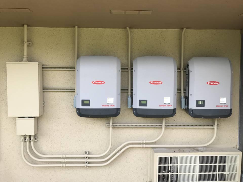 Solar Inverter Installation