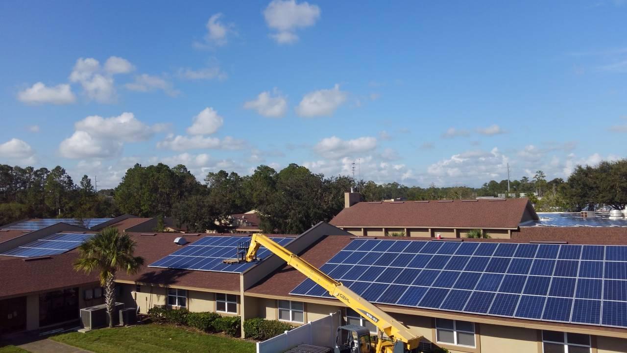 More Solar Arrays