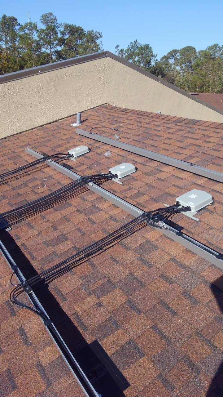 Rails Wired And Prepped For Panels