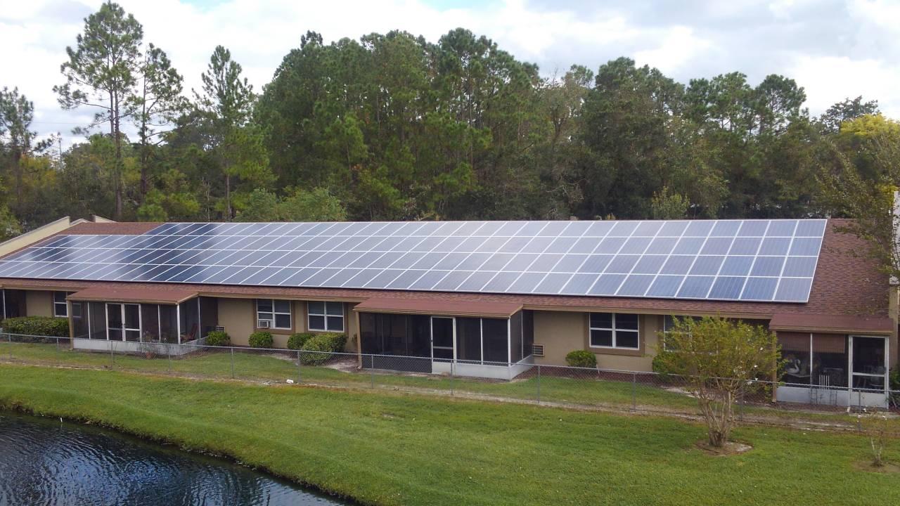 Sheet Of Glass Solar Array