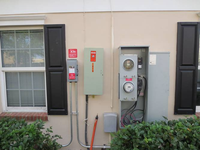 Interconnection installed for a solar installation in Valrico, FL