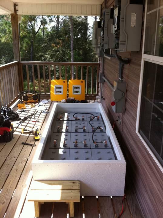 Battery backup system installed in Navarre, FL