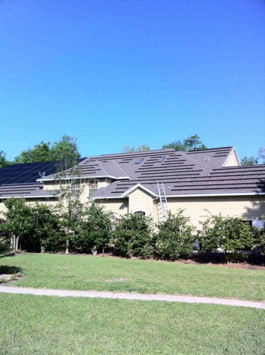 Solar Racks installed in Gainesville, FL