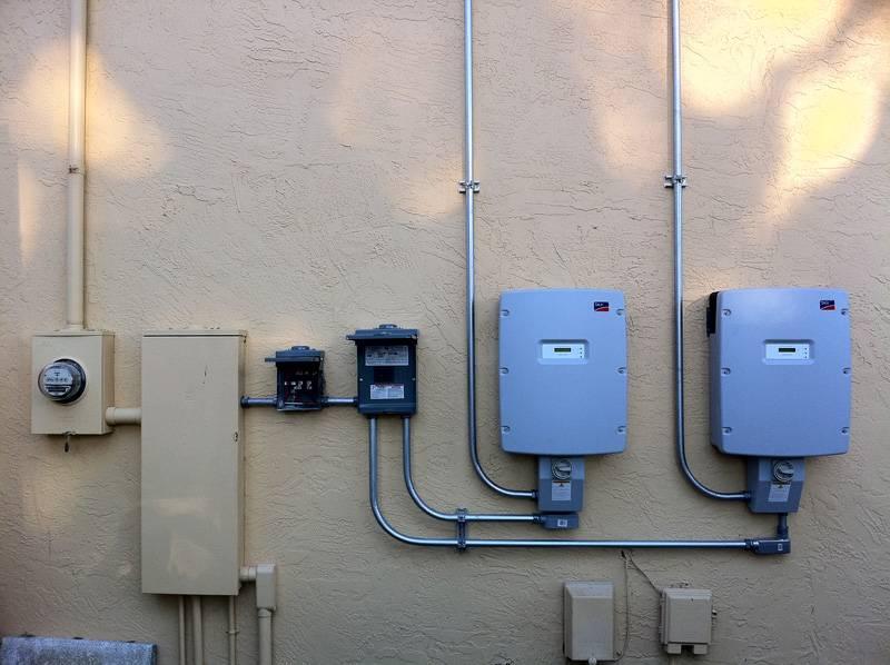 Interconnection installed on a solar installation in Port Orange, FL