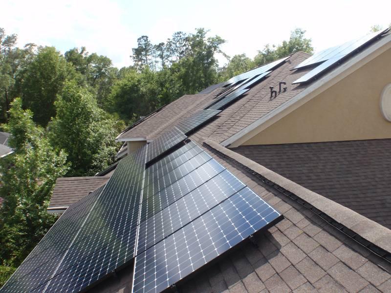 Solar array installed in Gainesville, FL