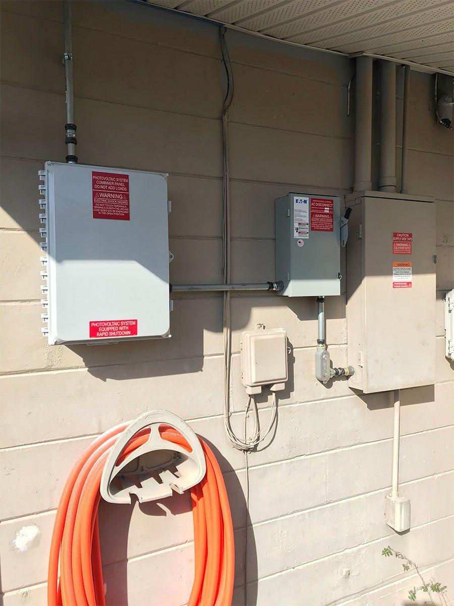 Interconnection installation of a solar installation in Seminole, FL