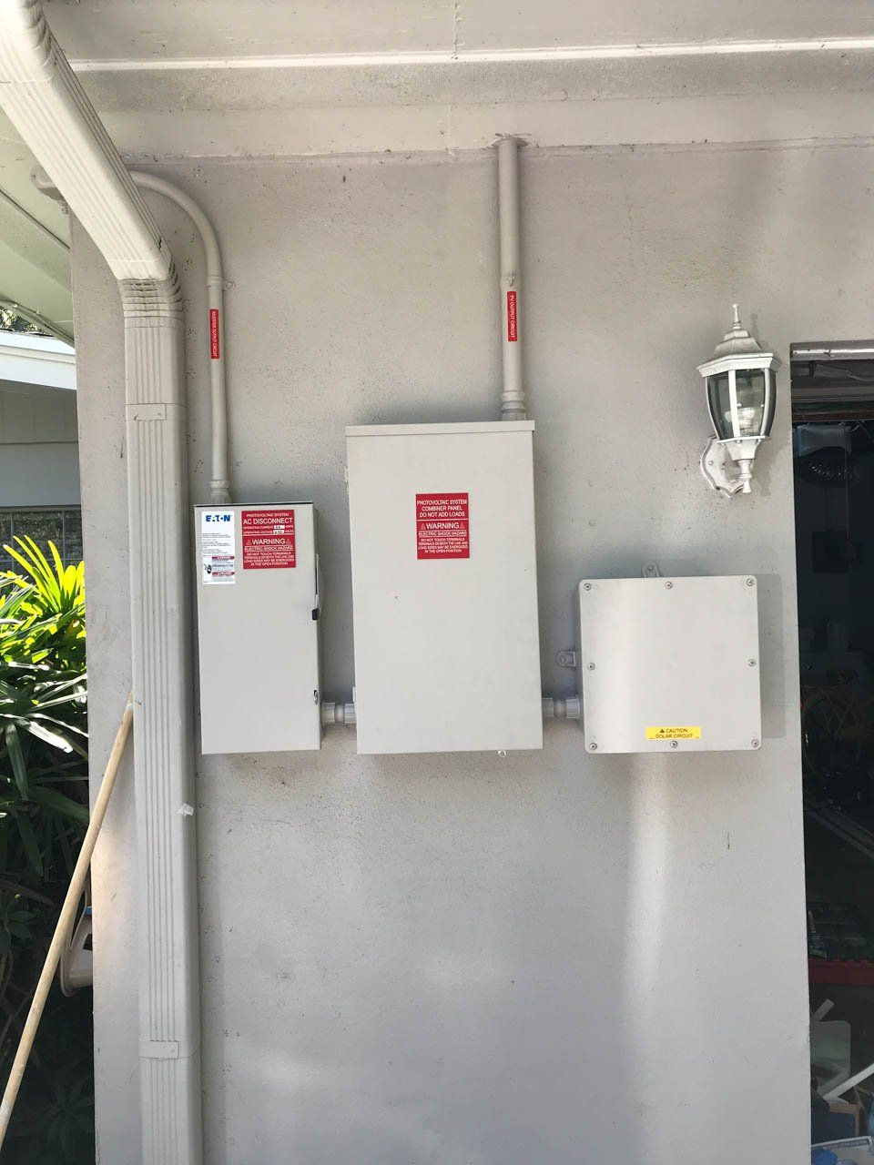 Interconnection of a solar installation in Clearwater, FL