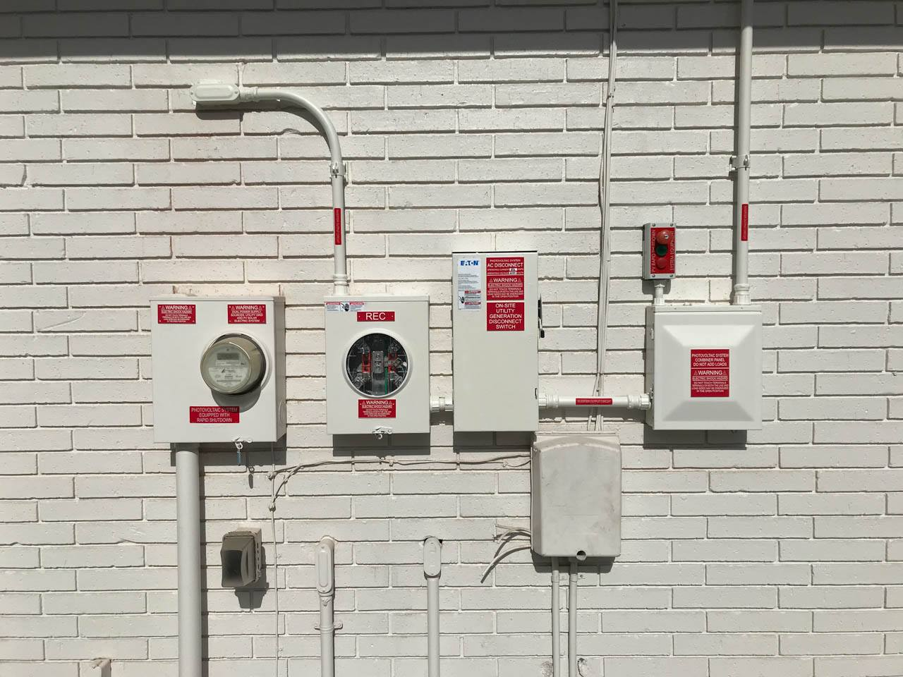 Interconnection of a solar installation in Lakeland, FL