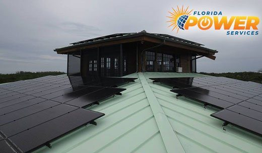 Residential Solar Power Installation