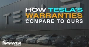 Our Solar Warranties Are 15 Years Longer Than Tesla's!