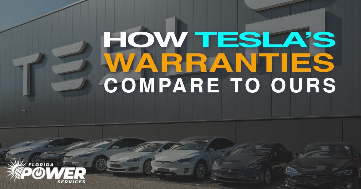 Our Solar Warranties Are 15 Years Longer Than Tesla's
