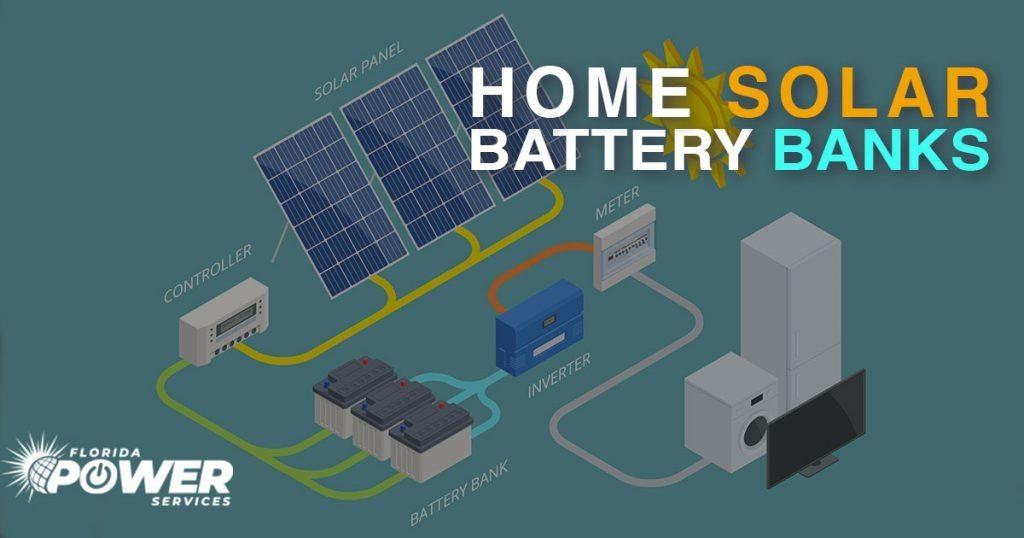 ow Do Home Solar Battery Banks Work?